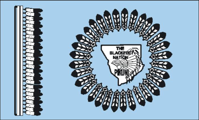 Flag of Blackfeet (Pikuni)