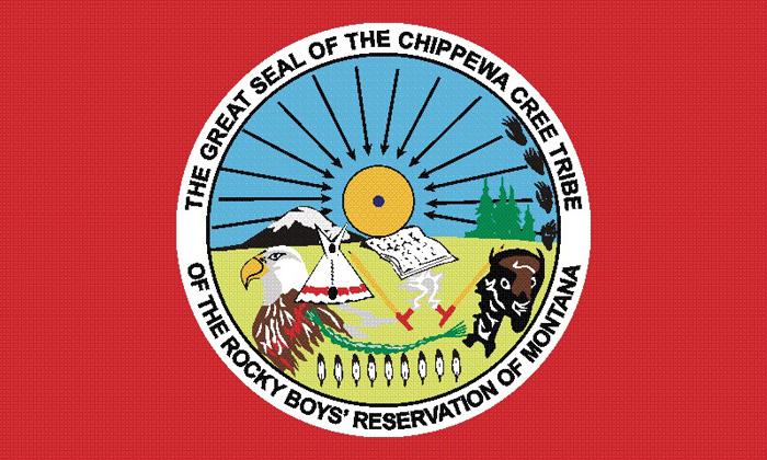 Flag of Chippewa Cree