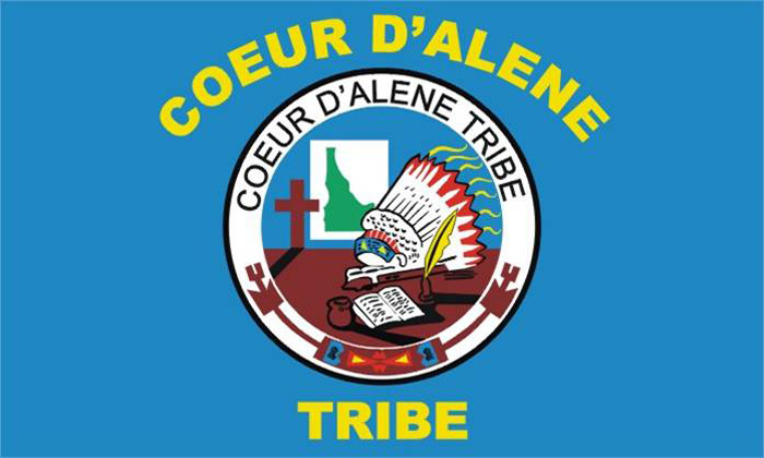 Flag of Couer D'Alene