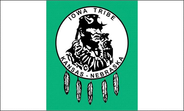 Flag of Iowa Tribe of Kansas
