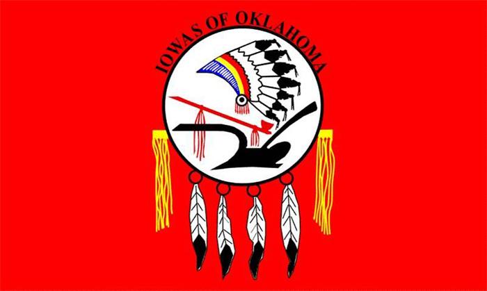 Flag of Iowa Tribe of Oklahoma