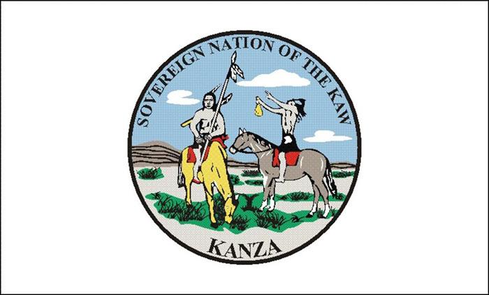 Flag of Kaw (Kanza)