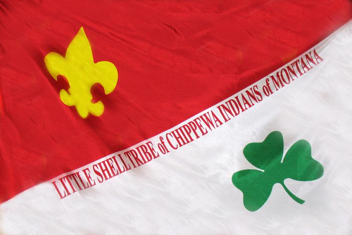 Flag of Little Shell Chippewa
