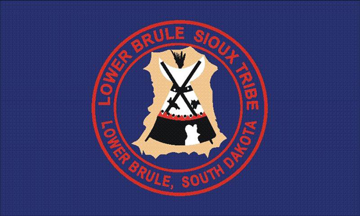 Flag of Lower Brule Sioux