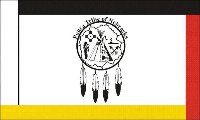 Flag of Ponca Tribe of Nebraska