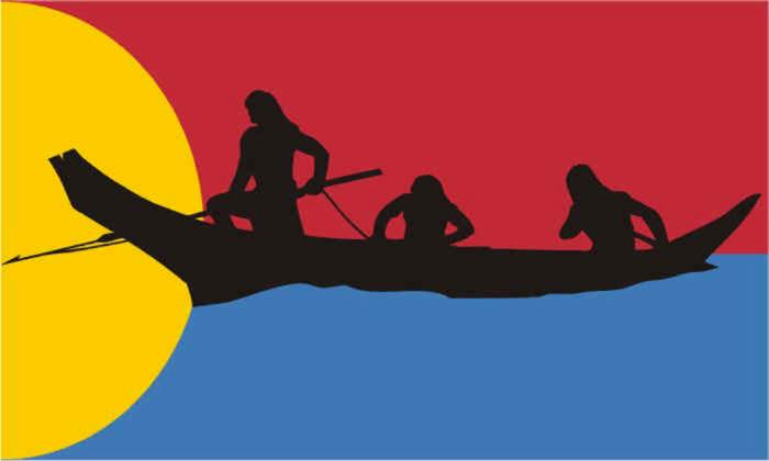 Flag of Clatsop-Nehalem