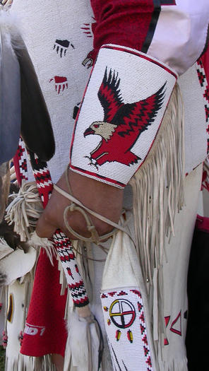 Oct. 15, 2003, Falls of the Ohio Signature Event. Clinton Brown, Fort Belknap, Montana.