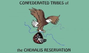 Flag of Tribes of the Chehalis Reservation