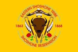 Flag of Shoshone Tribe of the Wind River Reservation
