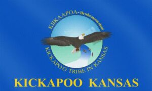 Flag of Kickapoo Tribe of Indians of the Kickapoo Reservation in Kansas