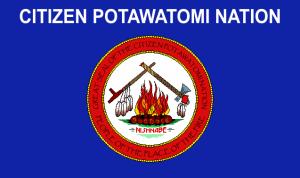 Flag of Citizen Potawatomi