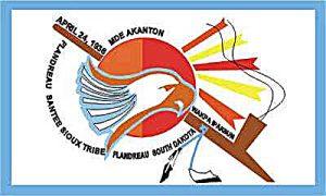 Flag of Flandreau Santee Sioux