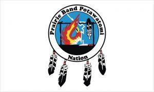 Flag of Prairie Band of Potawatomi