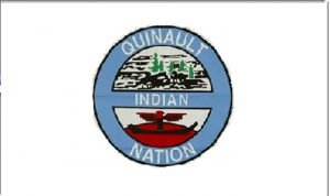 Flag of Quinault Indian nation