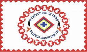Flag of Rosebud Sioux Tribe