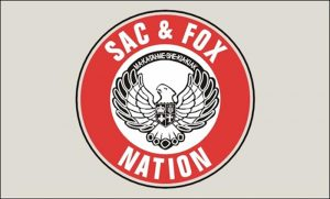 Flag of Sac & Fox Nation of Missouri in Kansas and Nebraska