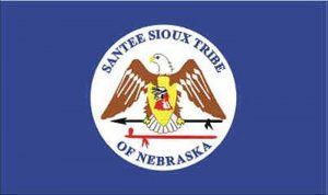 Flag of Santee Sioux