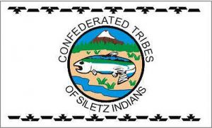 Flag of Siletz Indians