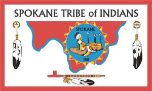Flag of Spokane Tribe